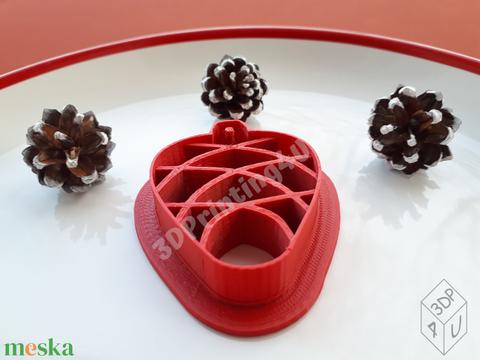 Toboz sütikiszúró süteménykiszúró keksz mézeskalács linzer süteményszaggató 3D nyomtatás fenyőtoboz kiszúró forma  (3DPrinting4U) - Meska.hu