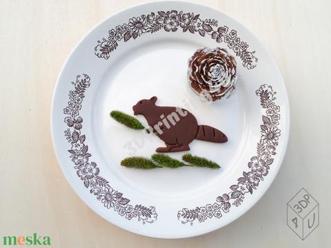 Hódító Hód sütikiszúró keksz mézeskalács linzer süteménykiszúró süteményszaggató 3D nyomtatás hód ajándék (3DPrinting4U) - Meska.hu