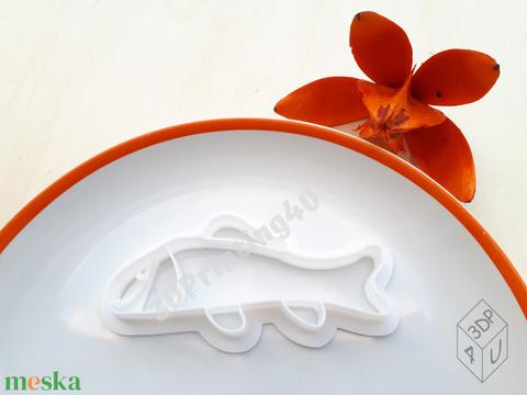 Hal sütikiszúró süteménykiszúró mézeskalács linzer keksz mézeskalácsszaggató  horgász horgászat 3D nyomtatás kiszúró (3DPrinting4U) - Meska.hu