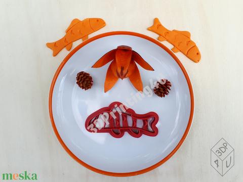 Ponty sütikiszúró süteménykiszúró mézeskalács linzer keksz mézeskalácsszaggató  horgász horgászat 3D nyomtatás kiszúró (3DPrinting4U) - Meska.hu