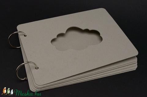Scrapbook album, fotóalbum alap - Meska.hu