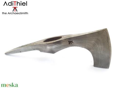 Damaszkolt szakállas székely fokos, [F_04c] - Meska.hu