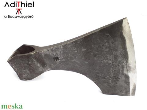 Kovácsolt acél viking szakállas balta kemény acél éllel, [F_07a] (adithiel) - Meska.hu