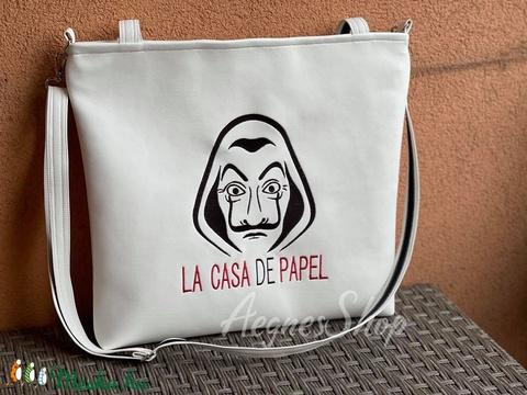 Fehér táska ( La Casa De Papel)  - Meska.hu