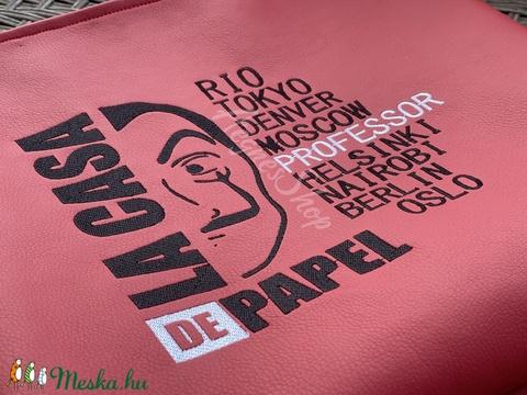 Piros táska ( La Casa De Papel) - Meska.hu