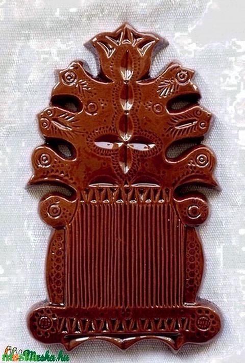 Csigacsináló tábla, hatágú (agyagos) - Meska.hu