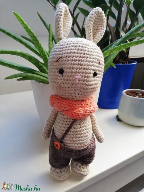 Pumpkin Bunny horgolt nyuszi amigurumi (aKrisztinka) - Meska.hu
