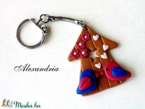 Házikós-kulcstartó - Meska.hu