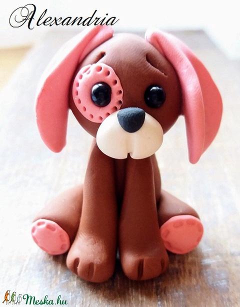 Lány kutyus - Meska.hu
