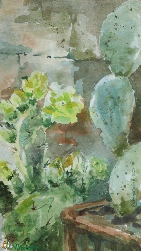 Virágzó kaktuszok, 2020 - Meska.hu