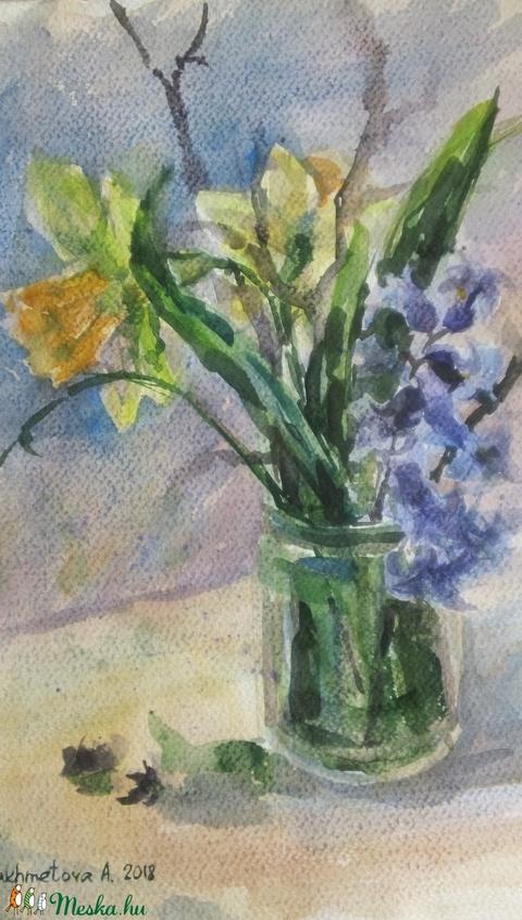 Spring Flowers, 2018 - Meska.hu