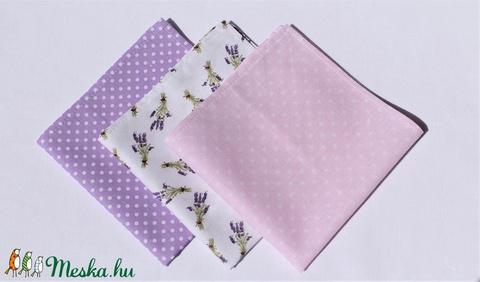 3 db textil zsebkendő egy csomagban (AlkoTaskaim) - Meska.hu