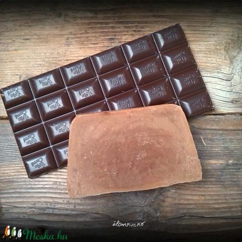 Csokis-fahéjas szappan kakaóvajjal - Meska.hu