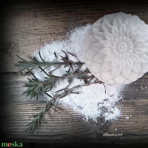 Levendulás sószappan szőlőmag olajjal (alomkucko) - Meska.hu