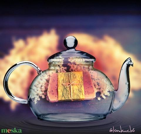 Bodzás-mákos szappan kecsketejjel és kakaóvajjal (alomkucko) - Meska.hu
