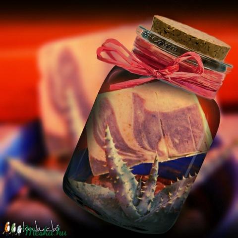 Aloe vera - citromfű szappan szőlőmag olajjal - Meska.hu