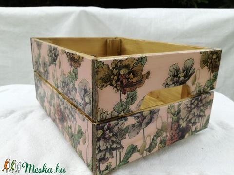 Pipacsos rózsaszín (Andijo) - Meska.hu
