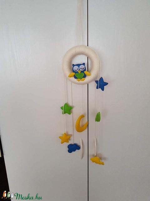 Baglyos gyerekszoba dekor (Andyjrainbow) - Meska.hu