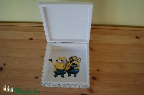 Minions doboz (Aneta1608) - Meska.hu