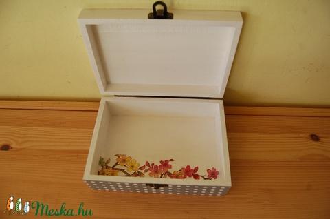 Színes virágos - madaras doboz (Aneta1608) - Meska.hu