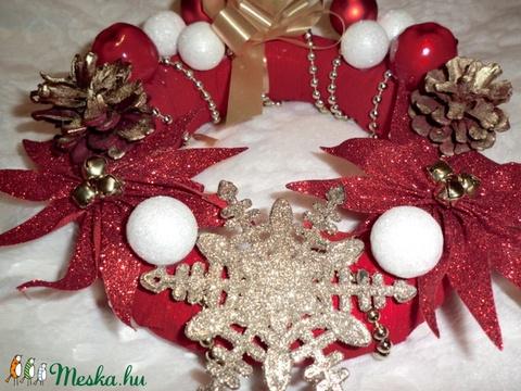 karácsonyi ajtódisz - Meska.hu