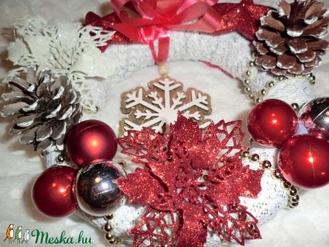 karácsonyi ajtókopogtató - Meska.hu