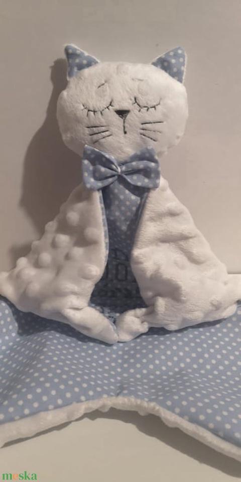 Cica Szundikendő. Textil cica - Meska.hu