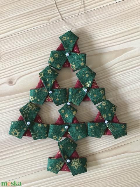 Karácsonyi textil ajtódísz (AngyalTancMuhely) - Meska.hu