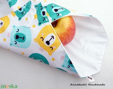 Wrap bag - vízhatlan szalvéta király macik (annetextil) - Meska.hu