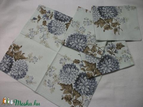 Textil zsebkendő vagy szalvéta  26 x 29 cm  (AnniMari) - Meska.hu
