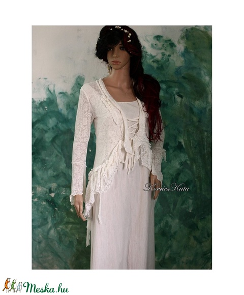 RHEIA - menyasszonyi ruha (Aranybrokat) - Meska.hu