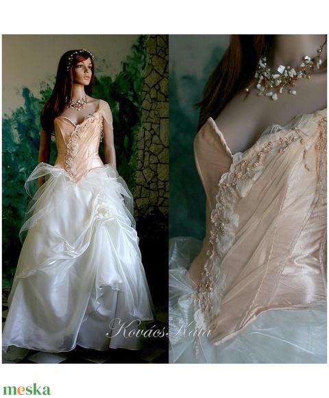 MELBA - menyasszonyi ruha - Meska.hu