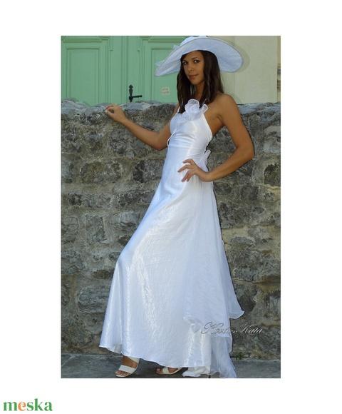 M E N Y A S S Z O N Y I .....   TINA - menyasszonyi ruha  (Aranybrokat) - Meska.hu
