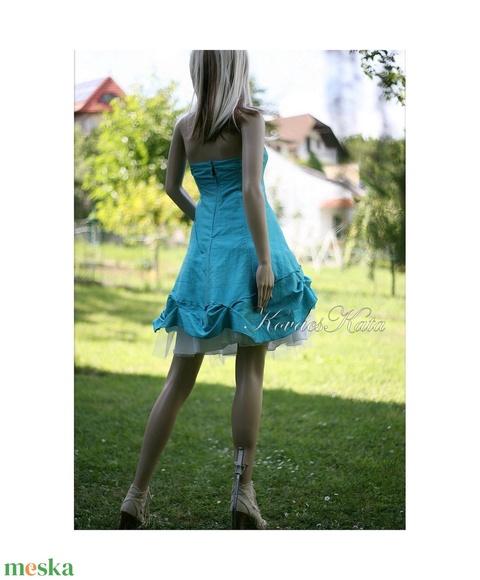 TÜRKIZ-LOLITA - dolly-ruha - pin-up style - Meska.hu
