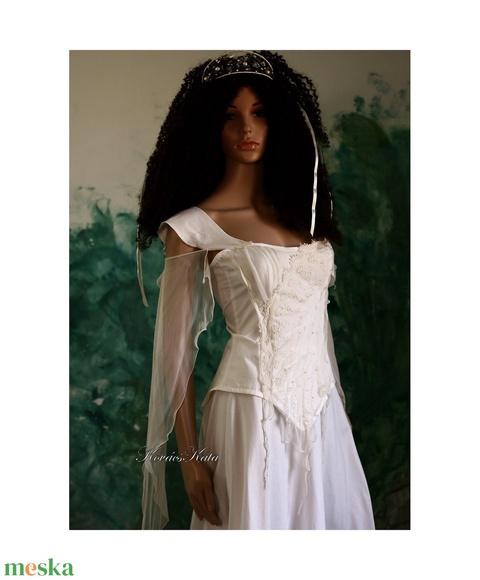TEREZIA - menyasszonyi ruha - Meska.hu