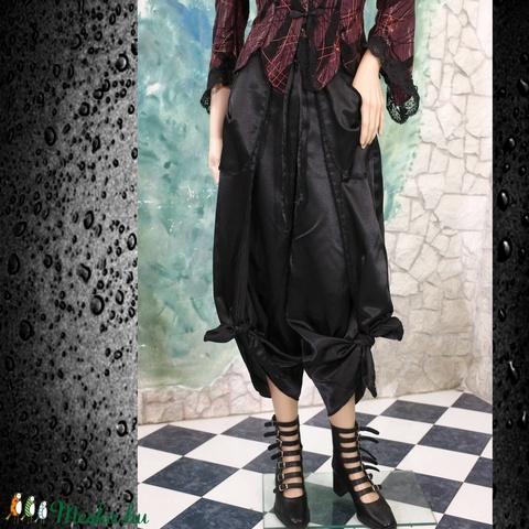 SATENE - exkluzív design-nadrág - ruha & divat - női ruha - alkalmi ruha & estélyi ruha - Meska.hu