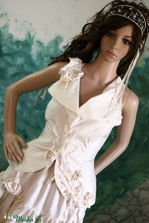 ADELE - menyasszonyi ruha - Meska.hu