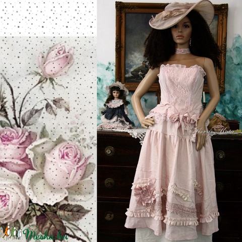 JULIETTE - esküvői design öltözet - Meska.hu
