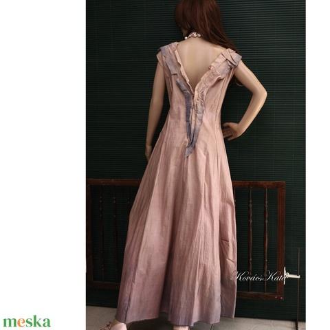 D E S I G N -  R U H Á K ..............VALERIE - romantikus ruha XL (Aranybrokat) - Meska.hu