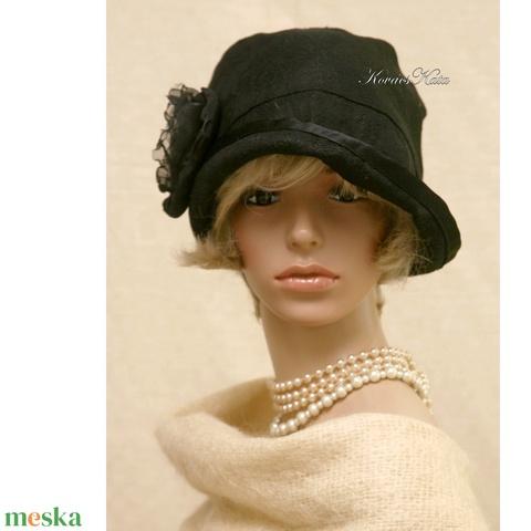 FRIDA cloche - design flapper kalap - Meska.hu