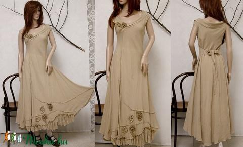 KREOL - design-ruha (Aranybrokat) - Meska.hu