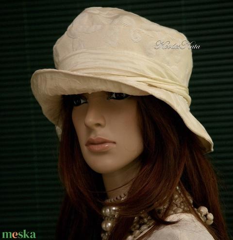 LILIEN - brokát kalap - Meska.hu