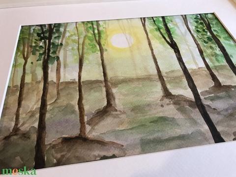 Erdei akvarell (ArnoldMonika) - Meska.hu