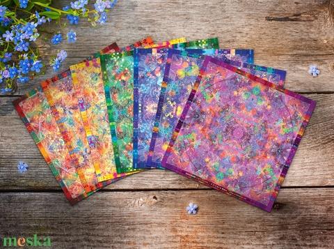 Csakra Mandala matrica csomag / harmadikszem, koronacsakra, szakrális, napfonat / spiritualitás, jóga, alternatív - Meska.hu