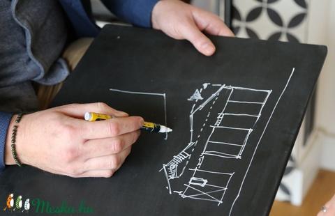 A3 'Waldorf' méretű rajz, festő- és krétatábla - Meska.hu