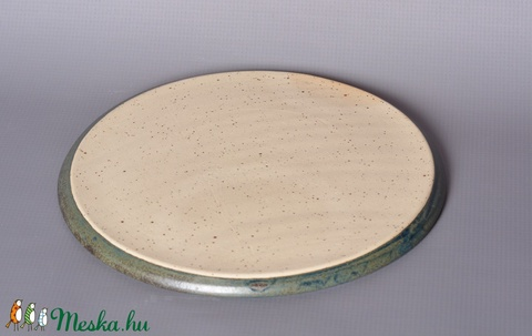 Kerámia tányér, kék1 (atmankeramia) - Meska.hu