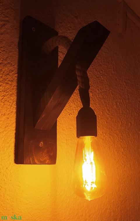 rusztikus fali lámpa (AtyeszDesign) - Meska.hu