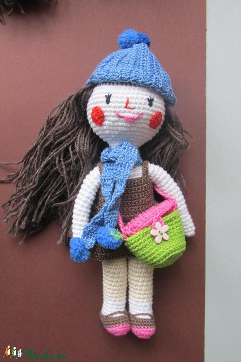 Ilona baba - amigurumi baba - horgolt baba - horgolt öltöztetős baba - öltöztehető baba - baba ruhatárral - játékbaba (Bababolt) - Meska.hu
