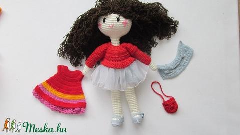 Valéria baba - amigurumi baba - horgolt baba - öltöztetős baba - játékbaba - babajáték (Bababolt) - Meska.hu