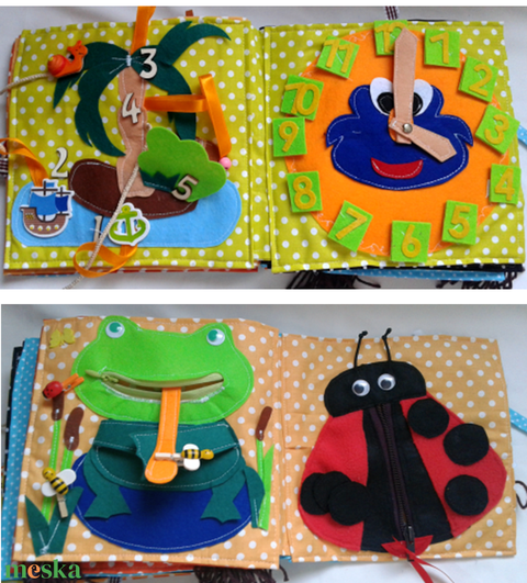 Kisfiúknak, vonatos, állatos 14 oldalas könyv, foglalakoztató, készségfejlesztő játék, csendeskönyv (Babam) - Meska.hu